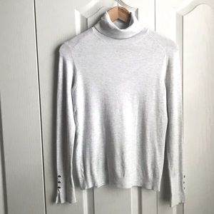 Zara Basic Knit Turtleneck Sweater Sz Large